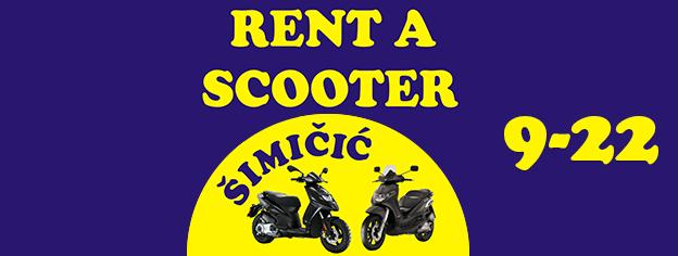 Rent a Scooter Šimičić - Okrug Gornji